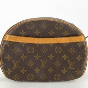 100% AUTH LOUIS VUITTON M51221 MONOGRAM BLOIS